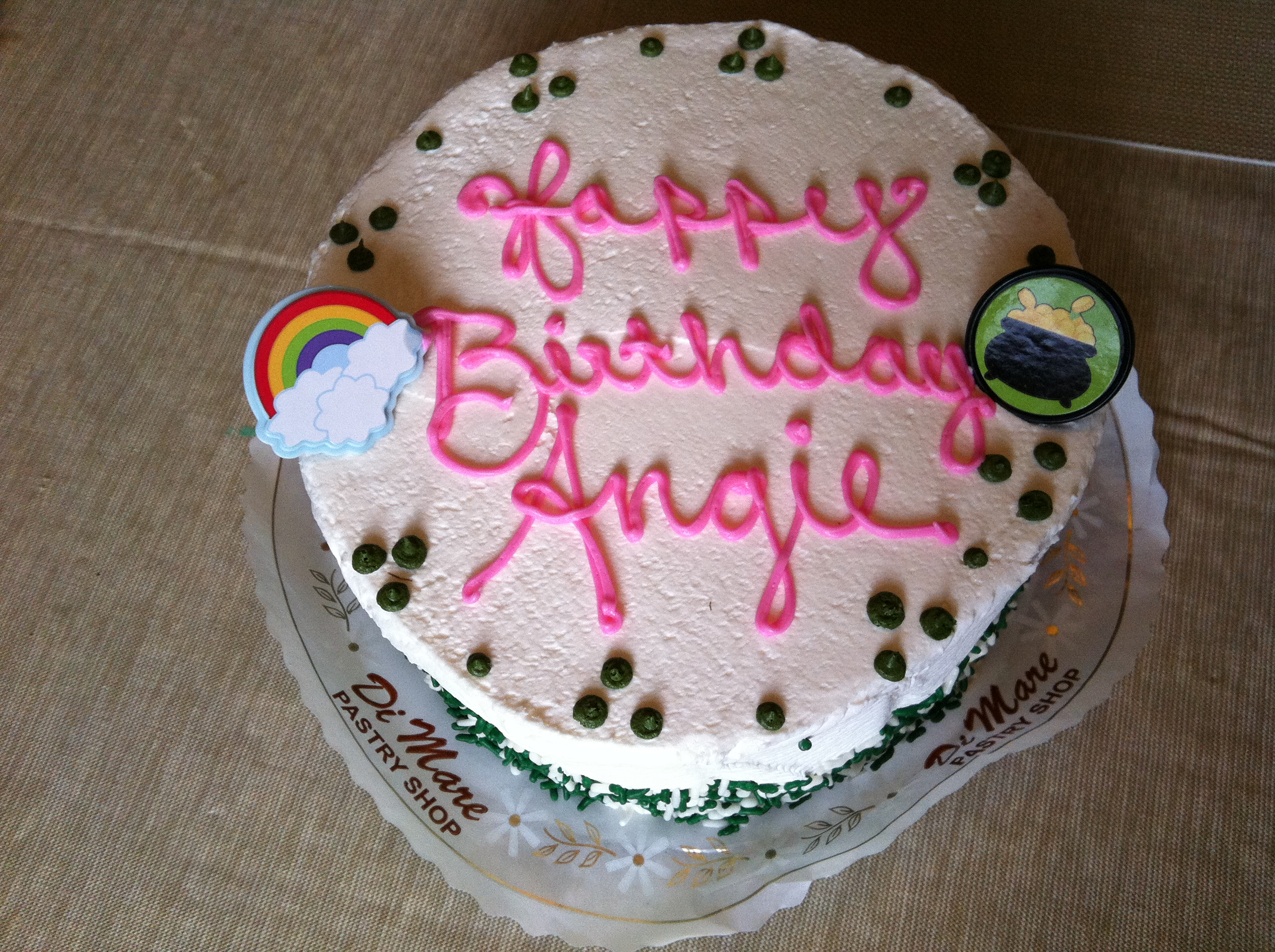 angie is short for angelina which means angel however i